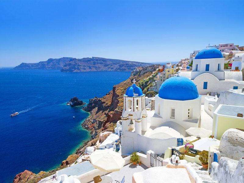Santorini, Grécia. Um dos lugares para conhecer antes de morrer