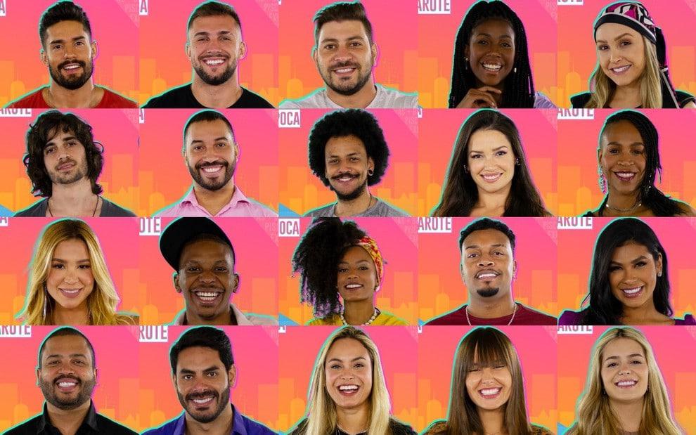 Participantes do Big Brother Brasil 21